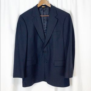 Brooks Brothers 346 Navy Blue 2 Button Blazer